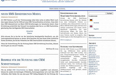 CRM Journal